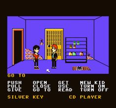 Maniac Mansion on Nintendo. I used to think this game was so cool.