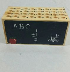 Hey, I found this really awesome Etsy listing at https://www.etsy.com/listing/552600671/pencil-block-teacher-pencil-block-pencil