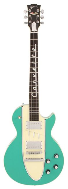 1995 Les Paul Corvette Cascade Green