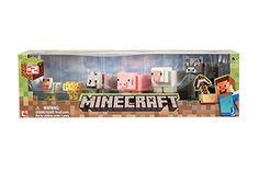 Sablon 16590 - Minecraft Multipack Spielfiguren Mobs Tiere: Amazon.de: Spielzeug 25€