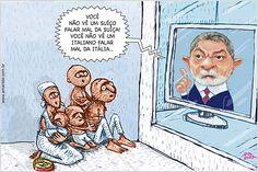 Brasil-Lula-2007-Charge-Demagogia & Cia-Charge de Amarildo