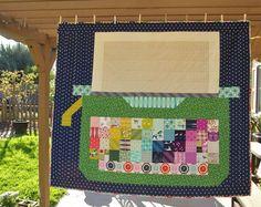 Cotton + Steel Typewriter Quilt by Heidi Staples of Fabric Mutt