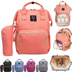 Top Multifunctional Baby Diaper Nappy Backpack Maternity Large Capacity Baby Bag See how you can take steps to turn back the hand of time >> see more here >> Large Diaper Bags, Baby Diaper Bags, Large Bags, Diaper Bag Backpack, Travel Backpack, Nappy Changing Bags, Baby Girl Tops, Baby Boy, Backpacks