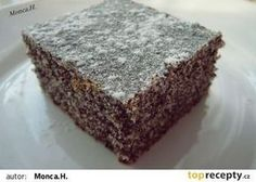Makovec recept - TopRecepty.cz Czech Recipes, Food And Drink, Pie, Treats, Drinks, Sweet, Desserts, Czech Food, Hampers
