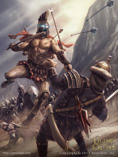 Espartano muerto envolved