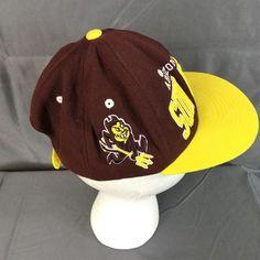 Details about Vtg Arizona State University Snapback Hat Cap ASU Sun Devils e7a6cf518693