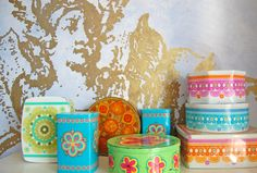 These tins are from IRA Denmark. Designed by Ethel von Horn and Anita Wangel. They also make me very happy.