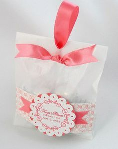 Cookie favor bag