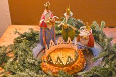I've written about the visits of whimsical characters to my armoire and succulent garden during many holidays (including Fourth of July, Halloween, Veterans' Da… Traditional Christmas Ornaments, French Christmas, Twelve Days Of Christmas, Christmas Cross, Felt Christmas, Christmas And New Year, Christmas Bulbs, Christmas Decorations, Holiday Decor