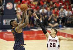Blog Esportivo do Suíço:  Com show de J.R. Smith, Cavs batem Hawks na abertura da final do Leste
