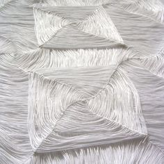 patternprints journal: THREE-DIMENSIONAL PATTERNS IN BEAUTIFUL WORKS TEXTILE BY JO DEELEY