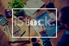 Jobs Employment Career Occupation Application Concept royalty-free stock photo