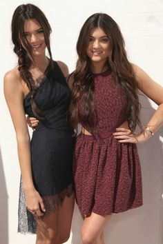 tagged as: kendall jenner, kylie jenner, style, tca, fishtail, dresses