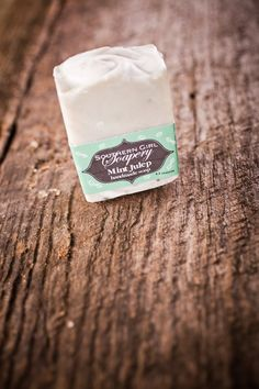 Mint Julep from Southern Girl Soapery and Bourbon & Boots. Hmmm.  For the soap nut in all of us!! WANT!