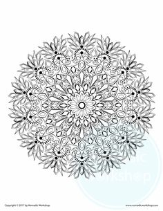 659b6b0d7ed38325a7c63435bdf9dfe9 coloring pages mandala flower coloring pagesjpg - Free Relaxing Coloring Pages
