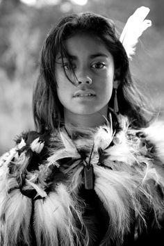 NEW ZEALAND Maori girl