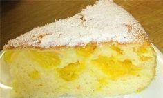 Ароматная апельсиновая шарлотка - выпечка без проблем | Четыре вкуса