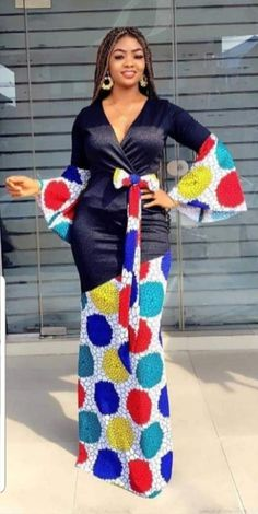 African Maxi Dresses, Latest African Fashion Dresses, African Dresses For Women, African Print Fashion, African Attire, Couples African Outfits, Africa Dress, African Traditional Dresses, Maxi Dress With Sleeves