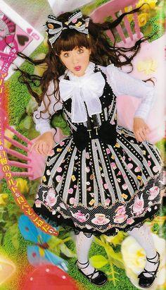Angelic Pretty - Wonder Party Bustier Style JSK - Worn