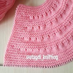 knitting projects for babies Baby Sweater Knitting Pattern, Sweater Knitting Patterns, Knit Patterns, Baby Knitting, Knitting Abbreviations, Knitting Stitches, Knitting Videos, Knitting Projects, Baby Sweaters