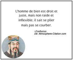Citation de Confucius - Proverbes Populaires