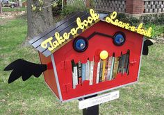 Little Free Library in Lee's Summit, MO re-pinned by: http://sunnydaypublishing.com/books/