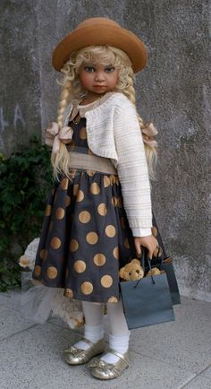 Angela Sutter's cute doll
