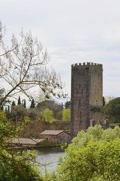 Set in a ruined medieval town, the romantic Ninfa Gardens are located in the Lazio region of Italy, 40 miles southeast of Rome #Ninfa #Castello_Caetani #Sermoneta #Latina #Lazio #Italia (photo by Monia Galardi)