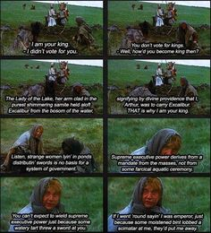 My favorite scene. And not just because we watched it in all my Poli Sci classes.