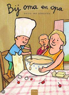 Clavisjes Bij opa en oma