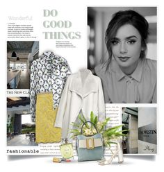 """""""Do Good Things"""" by thewondersoffashion ❤ liked on Polyvore featuring GET LOST, The 2nd Skin Co., Gucci, Yves Salomon, Boyy, Sam Edelman, Christian Dior and Elizabeth Arden"""