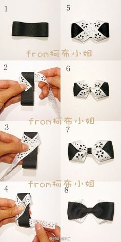 cute hairbow, looks really easy to make!