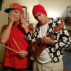 Josh and Tyler's dads - I'm laughing so hard