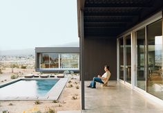 At the Desert House, designed by Marmol Radziner in Desert Hot Springs, California, groupings of succulents accent the home's entry path and pool area. Read the full article here.