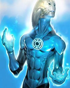 Saint walker (Blue Lantern Corp): There is always hope. Dc Comics Heroes, Dc Comics Art, Marvel Comics, Comic Books Art, Comic Art, Book Art, Injustice 2 Comic, Blue Lantern Corps, Black Lantern