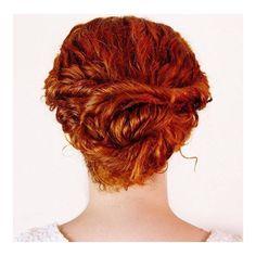 stylish summer hair updo
