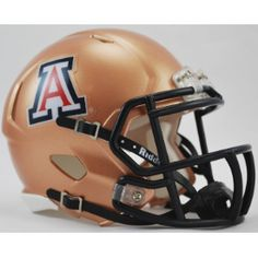 Old Ghost Collectibles - Arizona Wildcats NCAA Riddell Copper Mini Speed Football Helmet, $21.99 (http://www.oldghostcollectibles.com/arizona-wildcats-copper-riddell-mini-speed-football-helmet/)