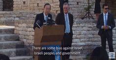 "New Video: UN Chief Admits UN Bias & Discrimination Against Israel UN Secretary General Ban Ki-moon admits that Israel suffers from UN ""bias"" and even... #AntiIsrael #Israel #UN - http://www.factualisrael.com/new-video-un-chief-admits-un-bias-discrimination-israel/"