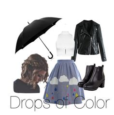 """Drops of Color"" by bethany797 ❤ liked on Polyvore featuring WearAll, Wallis and Davek"