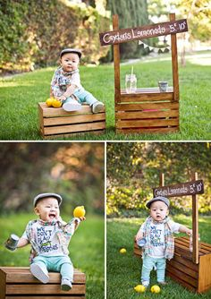 Cayden's First Year Portraits