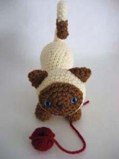 Mesmerizing Crochet an Amigurumi Rabbit Ideas. Lovely Crochet an Amigurumi Rabbit Ideas. Gato Crochet, Crochet Cat Pattern, Crochet Diy, Crochet Patterns Amigurumi, Crochet Gifts, Crochet Dolls, Free Pattern, Amigurumi Doll, Crochet Ideas