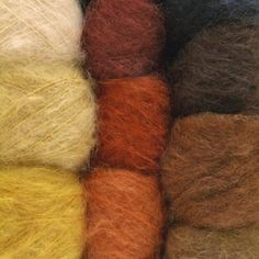 Smooth Mohair Doll Hair Yarn for realistic doll hair - at A Child's Dream. http://www.achildsdream.com/smooth-mohair-doll-hair-yarn/