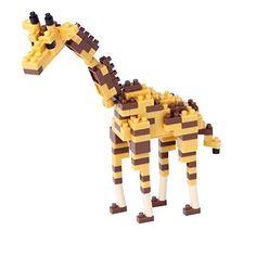 Nano block giraffe N