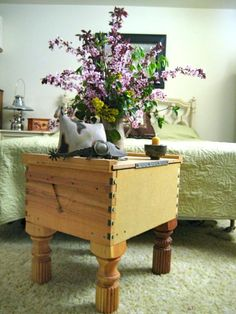 Bee box end table