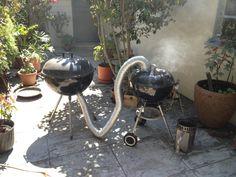 My DIY cold smoker!
