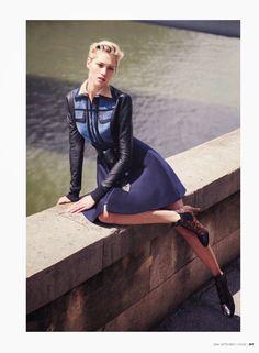 paris, c'est chic: hana jirickova by david bellemere for vogue thailand september 2014