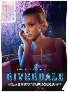 Lili Reinhart is Betty Cooper. Riverdale premieres Thursday, January 26 at on The CW! Riverdale Poster, Riverdale 2017, Kj Apa Riverdale, Riverdale Aesthetic, Riverdale Memes, Riverdale Tv Show, Riverdale Fashion, Betty Cooper Riverdale, Lemony Snicket