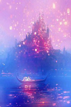 Tangled - flynn and rapunzel - disney wallpaper disney rapunzel, walt disne Disney Dream, Cute Disney, Disney Magic, Disney Art, Disney Movies, Disney Stuff, Walt Disney, Disney Rapunzel, Rapunzel Flynn