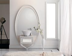 Just by looking at it, it's easy to see where the Dancing Room Bathroom Collection by Dezign Market gets its unique name from, dancing. Its pieces have unique legs which look like dancers tiptoeing.  The mirror's legs crisscross each other recalling a ballerina dancing gracefully. The set is ideal for those who love dancing and those who want to add interest to their bathrooms.