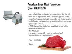 Proprocessor.com: Manual Meat Cuber Tenderizer